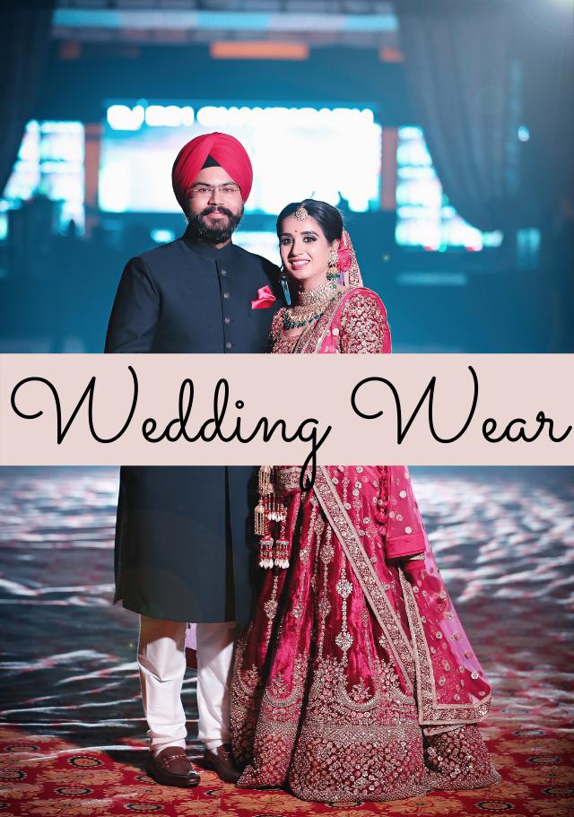 Wedding wears