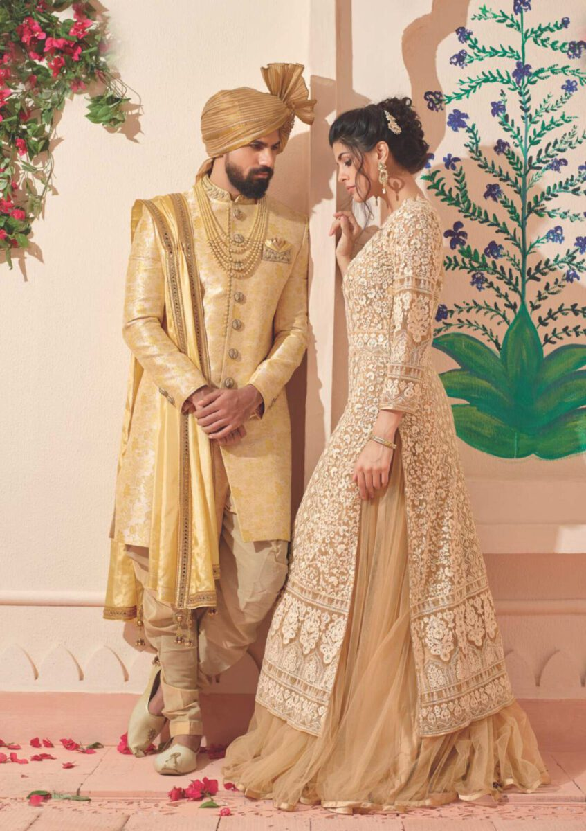 beige-sherwani-indo-western