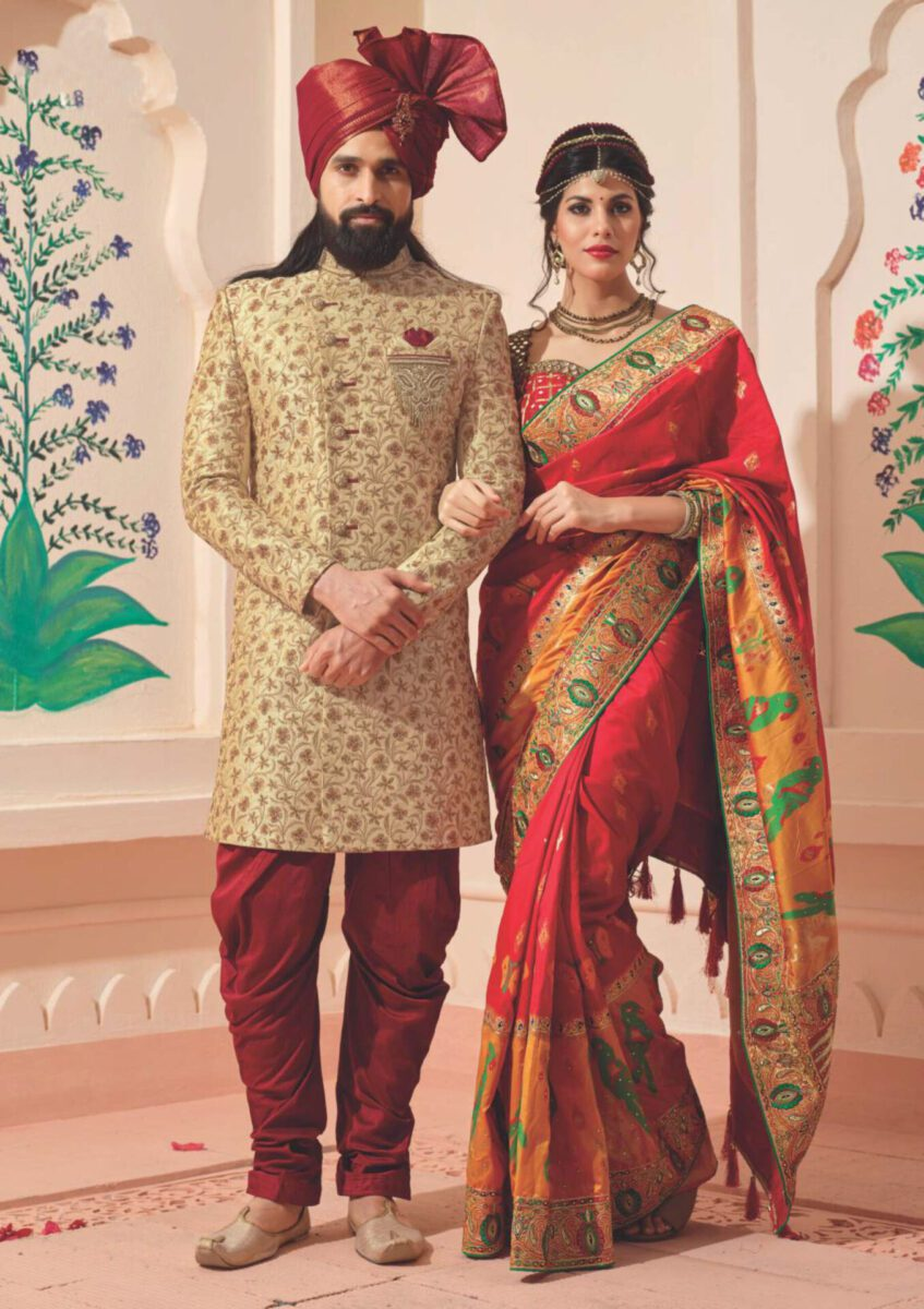 embroidered-Indo-western-sherwani-for-south-asian-men