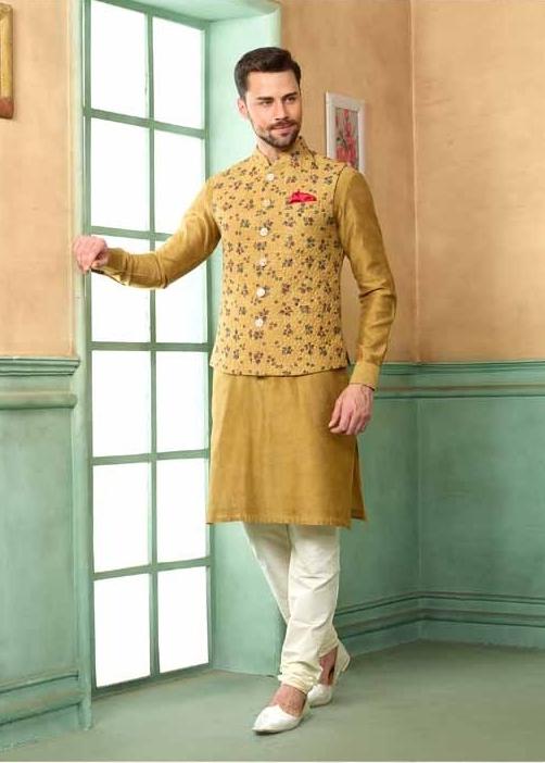 kurta pyjama for men with jacket