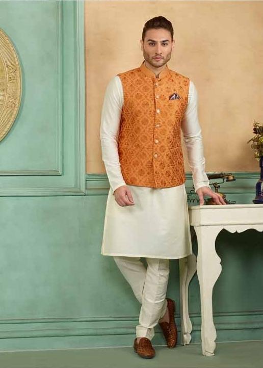 kurta with jacket for men