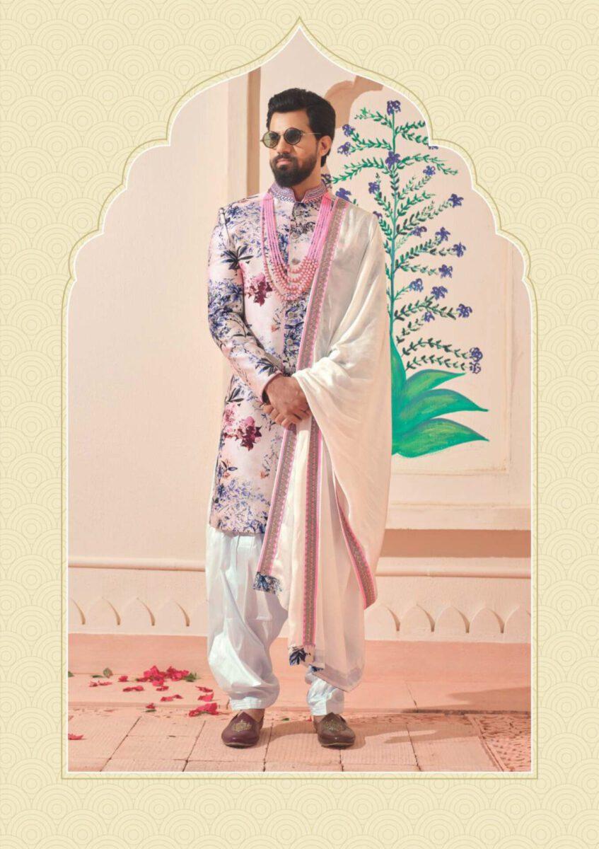 light-coloured-Indo-western-suit-for-men