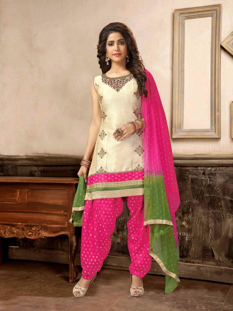 pink salwar suit(1)