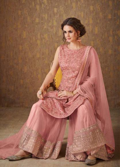 pink sharara suit(1)