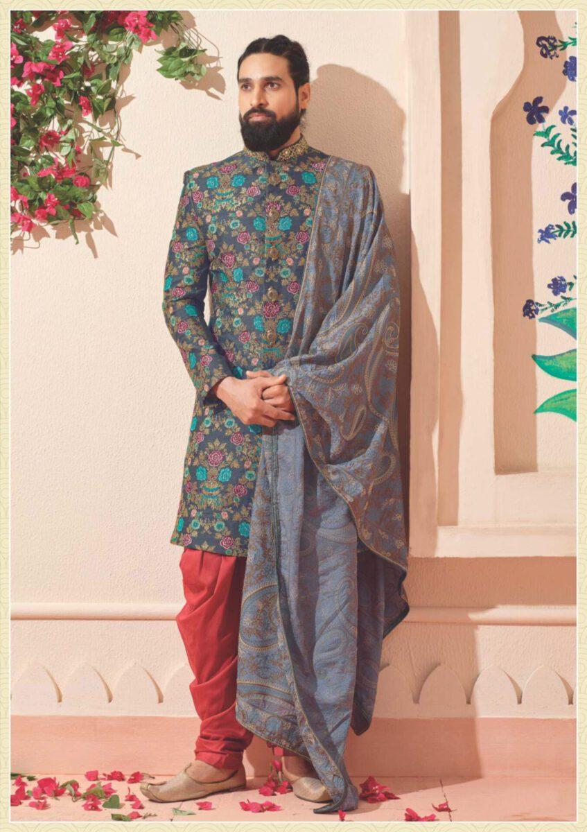 wedding-wear-Indo-western-for-asian-men