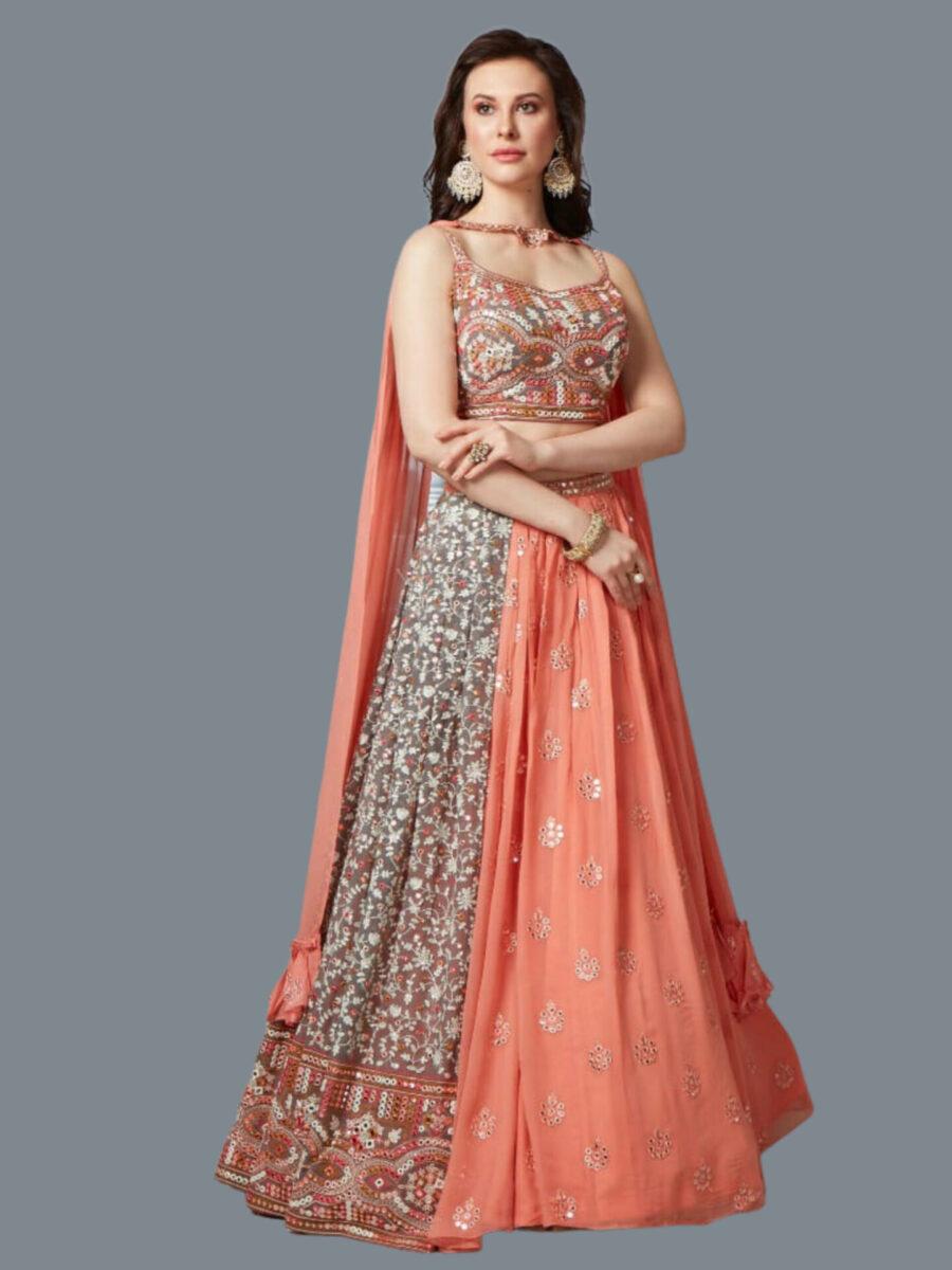 Orange Fashion Queen NJ Bridal Wear