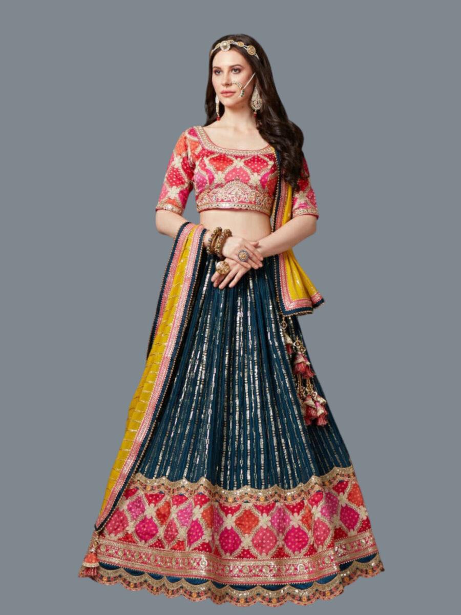 Traditional Bridal Lehenga of Fashion Queen NJ Bridals